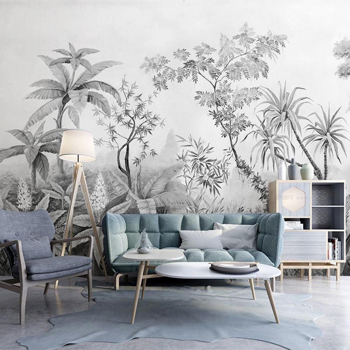 Vliesbehang's exclusive specialty is the Wallpaper (Behang)